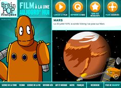 BrainPOP - Animated Educational Site for Kids - Science Social Studies English Math Arts & Music Health and Technology Educational Apps For Toddlers, Best Educational Apps, Educational Technology, Kid Science, App Of The Day, English Study, France, Art Music, Film