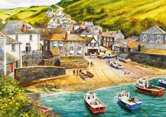 Port Isaac - Other  Abstract Background Wallpapers on Desktop