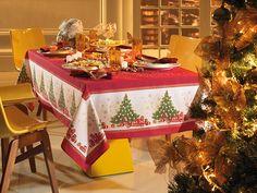 El perfecto mantel para Navidad - homelinengt.com