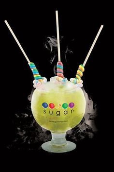 Candy Cocktails With Cotton Candy, Warheads, Jolly Ranchers | The Feast