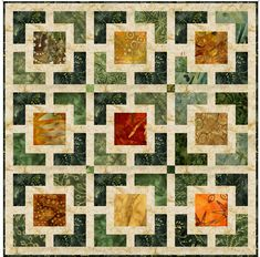 Eleanor Burns Hole in the Wall quilt pattern
