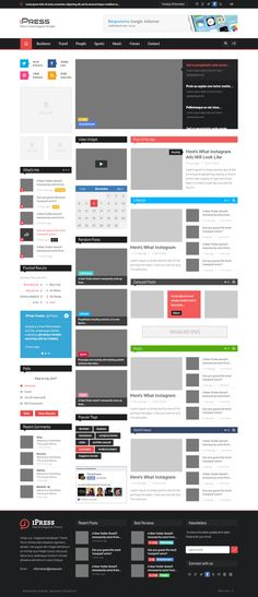Blog Website Templates Pinterest  The World's Catalog Of Ideas