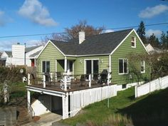3508 S Summit Ave, Bremerton, WA 98312 $149,950 3 bed, 1 bath, 2290 sq. ft., 0.15 acreage Love Love Love. cute, ocean view, carport deck. This house is great, with hardwoods and an eclosed lower deck sunroom/studio it would be incredible.