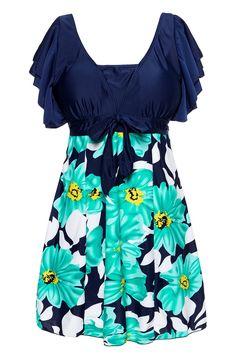 741b00f27df Wantdo Women's Full Figure Swimwear Halter Shaping Body One-Piece Swimsuit  Plus Size Swimwear(Lily Orange,5XL(UK16-18)): Amazon.co.uk: Clothing