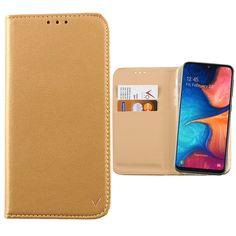 """ΘΗΚΗ SAMSUNG A20e 2019 A202 5.8"""" POCKET MAGNET BOOK STAND GOLD Book Stands, Magnets, Notebook, Pocket, Wallet, Books, Gold, Galaxy Phone, Samsung Galaxy"""