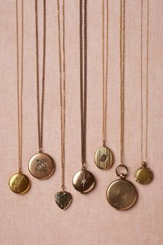 Anthro Collector's Lockets