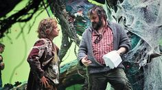 Martin Freeman as Bilbo and Peter Jackson