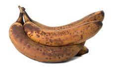 Ylikypsä banaani, mitä voit niistä esimerkiksi valmistaa.