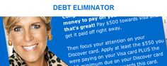 Suze Orman's Personal Finance Tools : Debt Eliminator : Expense Tracker : Compound Interest Forecaster : Average Cost Basis Analyzer : Mortgage Refinance Calculator