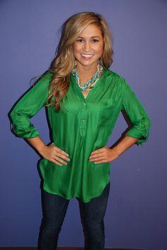 Green Impressions Tunic