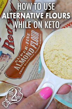 How to Use Popular Gluten-Free Keto Flours In Recipes how to incorporate alternative flours into keto recipes (Make Ahead!) Gluten FreeGluten Free & Keto Most Popular Ear Pier Keto Brownies, Keto Fat, Low Carb Keto, Ketogenic Recipes, Diet Recipes, Vegan Recipes, Diet Tips, Recipies, Keto Flour