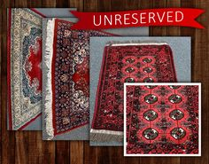 Looking for the perfect way to finish a room with a bright burst of colour? The UNRESERVED Persian Rugs Online Auction is ending TONIGHT at pm‼️