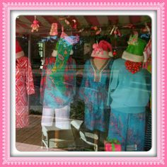 Lilly display for the holidays <3 #LillyHoliday