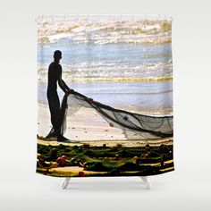 """Sunny"" Shower Curtain by crismanart Shower Curtains, Sunnies, Tapestry, Painting, Home Decor, Art, Hanging Tapestry, Art Background, Tapestries"
