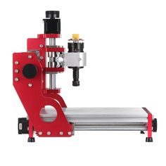 Red 1419 3 Axis Mini DIY CNC Router Standard Spindle Motor Wood Carving Engraving Machine Milling Engraver Woodworking Diy Cnc Router, Cnc Engraving Machine, Milling, Goods And Services, Wood Carving, Woodworking, Mini, Red, Products