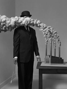 ♥ The Surreal Photography of Hugh Kretschmer  Reminds me of Magritte for some reason.