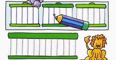 Aquí os dejo una colección de fichas de prematemáticas para alumnos de infantil. En la parte superior de cada ficha viene un recuadro con... Ms, Preschool Learning, Teaching Aids, Leaves, Activities