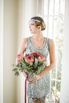 UK18 US14 AUS18 Grey Blue Vintage inspired 1920s vibe Flapper Great Gatsby Beaded Charleston Sequin Wedding Party Fringe Dress New Hand Made