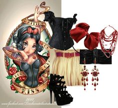 """""""snow white"""" by jessica-nichole-wilson on Polyvore"""