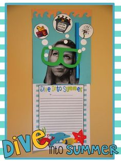 Dive Into Summer! | End of the Year Bulletin Board
