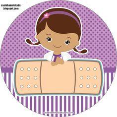 Casinha de Criança: Kit Festa Doutora Brinquedos Para Imprimir Grátis