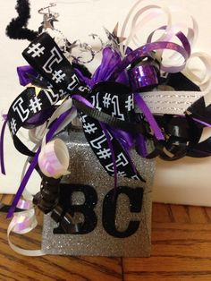 Cowbell for Faith's cheer competition!