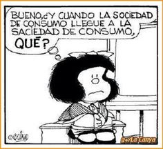 SillePe shared a photo from Flipboard Mafalda Quotes, H Comic, Lucky Luke, Positive Messages, Amazing Adventures, Just For Laughs, Funny Comics, Decir No, Funny Pictures