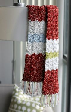 Shell Crochet Scarf