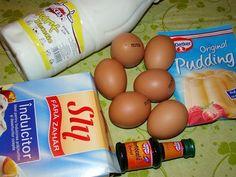 Cristina's world: Budinca de iaurt la cuptor Pudding, The Originals, Breakfast, Kiwi, Food, Dukan Diet, Morning Coffee, Custard Pudding, Essen