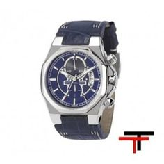 Relojes Cronografos Cuero Azul   http://www.tutunca.es/reloj-race-cronografo-azul
