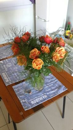 Bought these for my girlfriend on her birthday . Cherry brandy roses