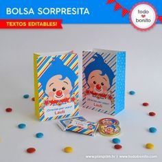 Plim Plim: caja popcorn para imprimir - Todo Bonito Ideas Para Fiestas, Fiesta Party, Geronimo, Some Ideas, Bambam, Happy Birthday, Clip Art, Tattos, Party Ideas