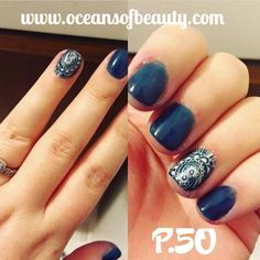 P.50 EZdip Gel Powder. DIY EZ Dip. No lamps needed, lasts 2-3 weeks! Salon Quality done right in your own home! For updates, customer pics, contests and much more please like us on Facebook https://www.facebook.com/EZ-DIP-NAILS-1523939111191370/ #ezdip #ezdipnails #diynails #naildesign #dippowder #gelnails #nailpolish #mani #manicure #dippowdernails