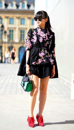 Leaf Greener  after Schiaparelli Haute Couture, Place Vendome