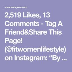 "2,519 Likes, 13 Comments - Tag A Friend&Share This Page! (@fitwomenlifestyle) on Instagram: ""By @alexia_clark"""