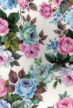 Flower, fabric wallpaper, vintage flowers wallpaper, vintage paper, vintage r Vintage Flowers Wallpaper, Fabric Wallpaper, Flower Wallpaper, Pattern Wallpaper, Wallpaper Backgrounds, Iphone Wallpaper, Vintage Flower Backgrounds, Floral Wallpapers, Trendy Wallpaper