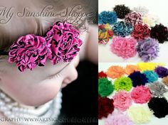 (60% off!) Mini Shabby Flower HALF PINT Grab Bag 50 flowers