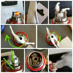 How to Build Dragon Vertical Coil on Kanger Subtank Mini RBA Deck (The | The Vaping Buddha