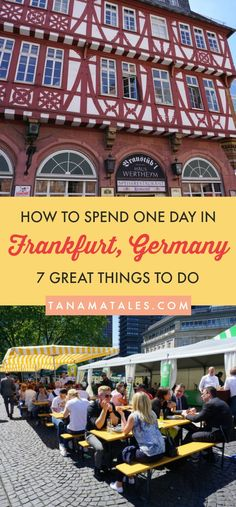 One day in Frankfurt Am Main, Germany – 7 Phenomenal Things to do, see and eat – If you happen to be traveling around Frankfurt or have a layover in the city, these 7 ideas will help you to make the most of your time in the city. You will love the cultural, gastronomic and shopping options in the city.