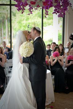 #BigDay #weddings #realweddings    Jessica and Ian's Glamorous Florida Wedding