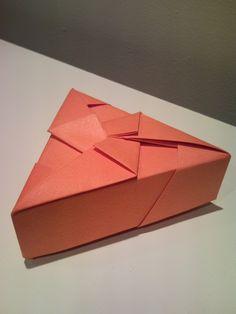 Resultado de imagen para cajas triangulares origami