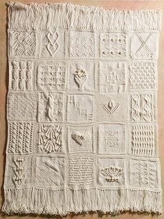 Experience stitching the way it was meant to be with these 25 creative block patterns. Discover exciting, new blocks such as Imperial Twist, Cable Twist, Triplet Cable, Raised Heart, Sunflowers and more. Stitch and mix your blocks to make any number ...