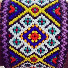 Huichol art. #hikuri #kauyumari #peyote #huicholes #huicholart #sacredgeometry…