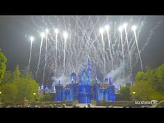 (Excellent Castle View) NEW Disneyland Forever Fireworks - 60th Diamond Celebration - YouTube