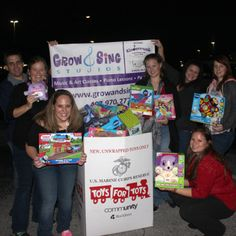We are so proud of our families and staff who all took part in our Toys for Tots drive. We proudly OVERFILLED our box!!