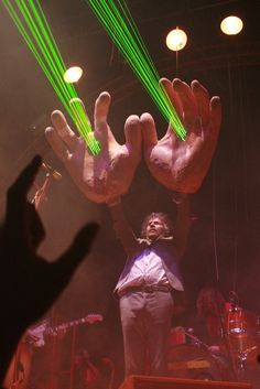 you know.... because of the big hand feeling!  Wayne Coyne of The Flaming Lips