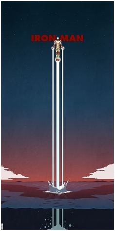 IRON MAN 3 Poster Art by Matt Ferguson - News - GeekTyrant