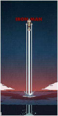 IRON MAN 3 Poster Art by Matt Ferguson - News - GeekTyrant