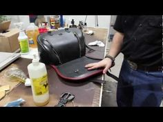 Let Brad show you how to properly clean and condition your saddlebags in this edition of Boss Bags Saddlebag School.