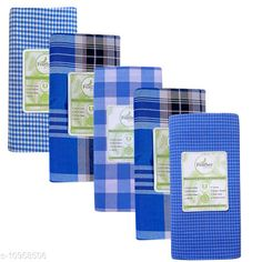 Checkout this latest Dhotis, Mundus & Lungis Product Name: *  Men's Cotton  Checked   Lungi  Pack of 5  pcs* Fabric: Cotton Blend Pattern: Checked Multipack: 5 Sizes:  Free Size (Waist Size: 66 m, Dhoti Length Size: 70 m, Length Size: 2 m)  Country of Origin: India Easy Returns Available In Case Of Any Issue   Catalog Rating: ★4.1 (394)  Catalog Name: Elegant Men Dhotis Mundus & Lungis CatalogID_2028779 C66-SC1204 Code: 917-10958506-3591
